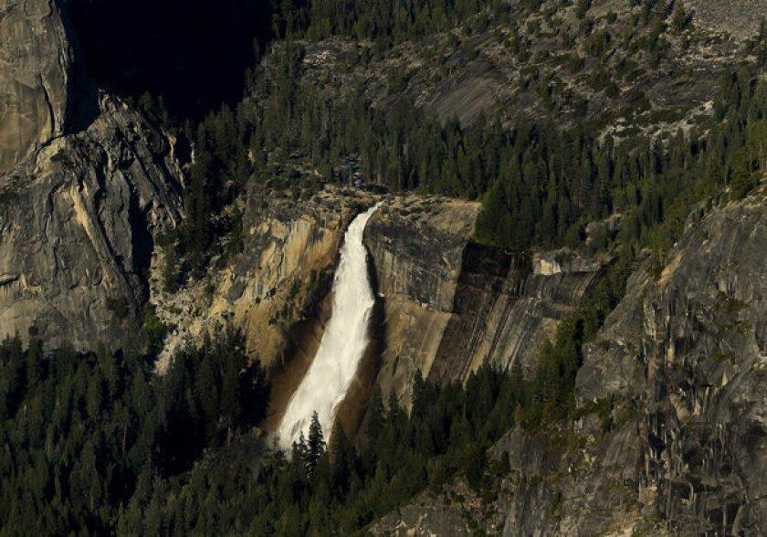 Nevada Fall in Yosemite National Park.