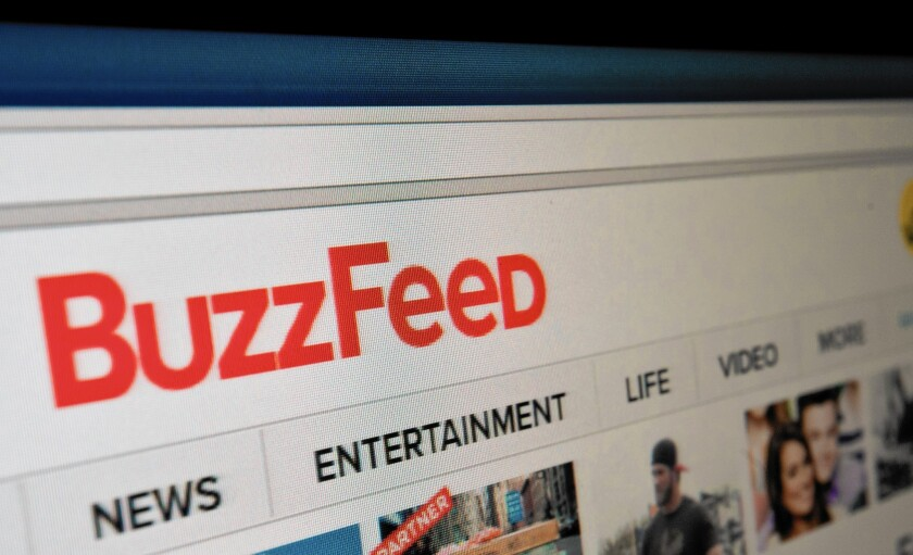 NBCUniversal invests in BuzzFeed