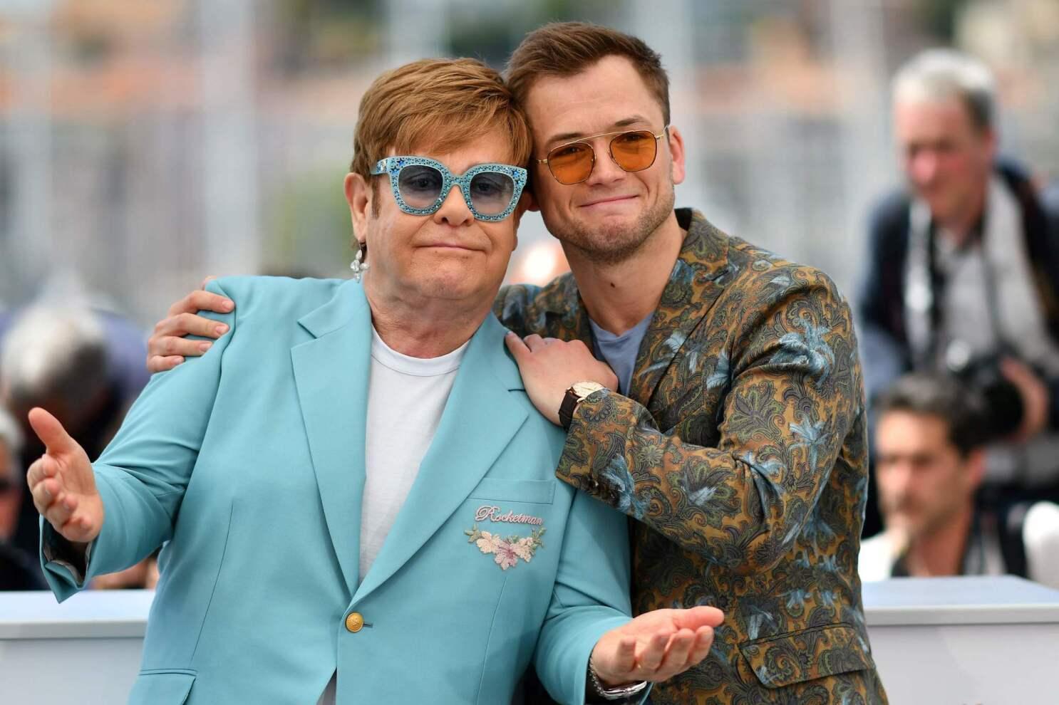Rocketman' star Taron Egerton on becoming Elton John - Los Angeles Times