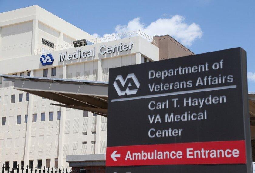 The Carl T. Hayden VA Medical Center in Phoenix.