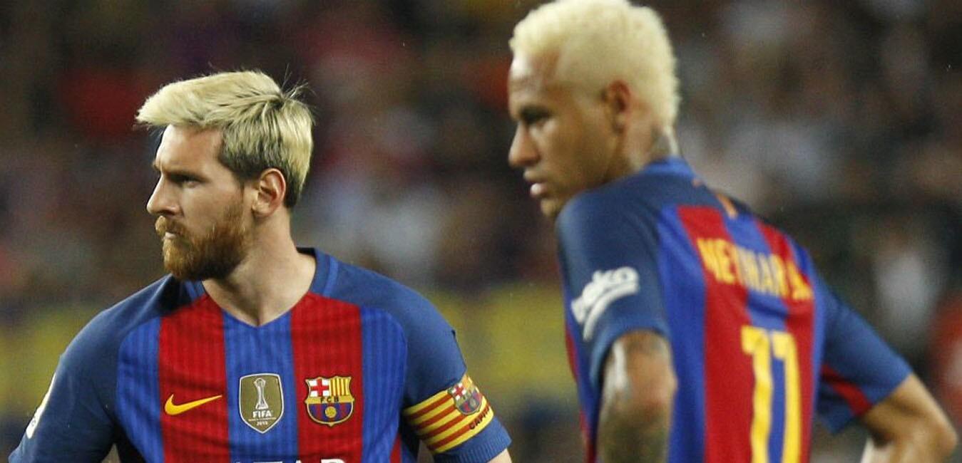 Messi y Neymar, sin palabras tras consumarse la victoria del Alavés en el Camp Nou...