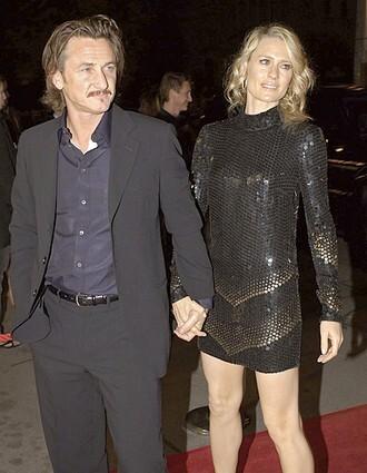 Sean Penn and Robin Wright Penn