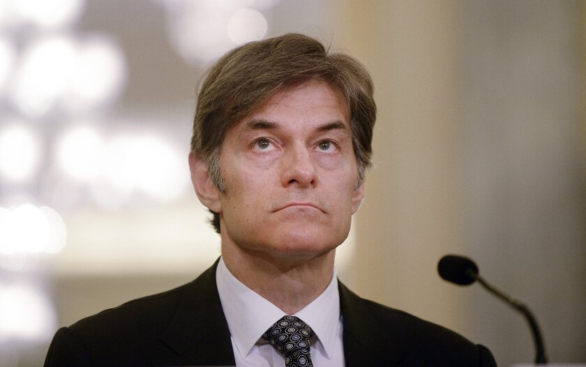 Mehmet Oz, host of the Dr. Oz Show testifies on Protecting Consumers from False and Deceptive Advertising of Weight-Loss Products - DC