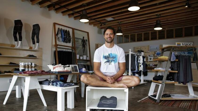 The Encinitas fitness apparel brand celebrates their grand opening of the store and community space. Enjoy music, tacos, refreshments, art, and of course, clothing for sale. Learn more about Vuori and co-founder Joe Kudla in our feature story. 6 to 10 p.m. Saturday. Vuori, 625 S. Coast Hwy 101, Encinitas. Free to attend. vuoriclothing.com (/ © Nancee E. Lewis / Nancee Lewis Photography)