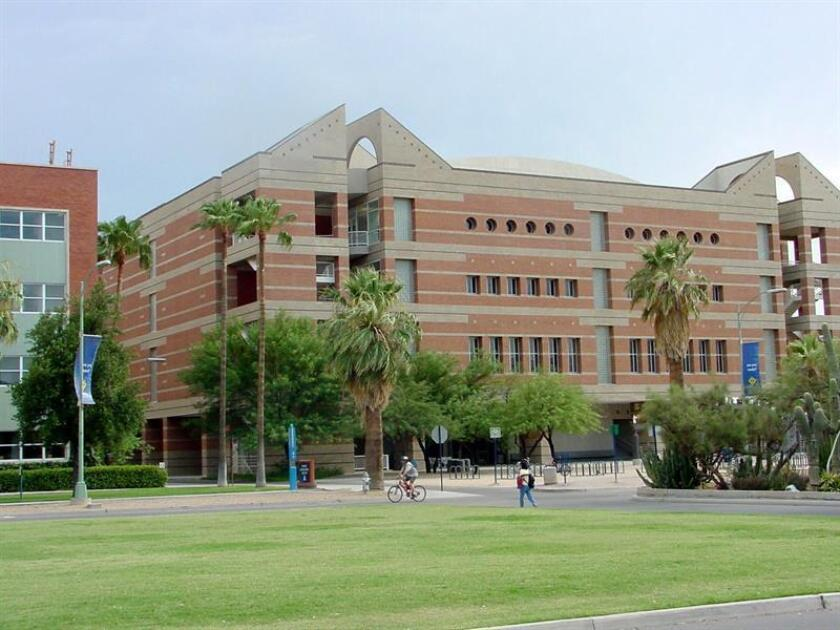 Vista general de un edificio de la Universidad de Arizona. EFE/ARCHIVO
