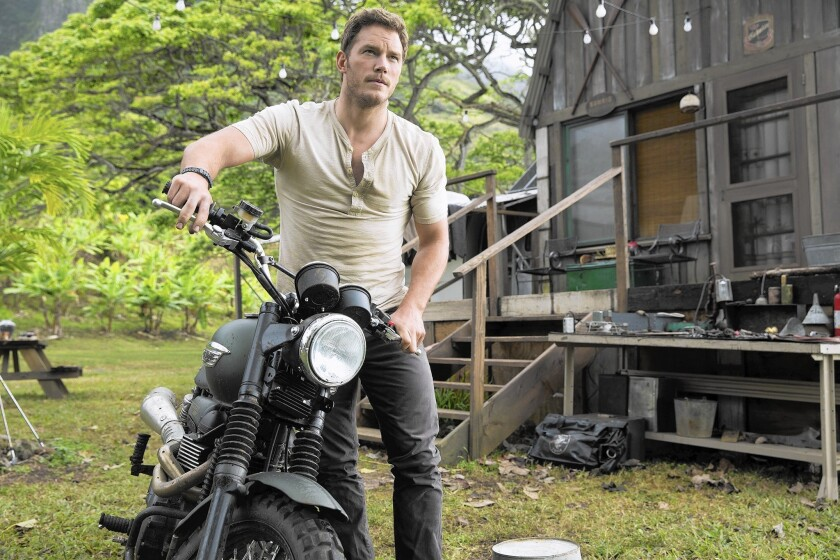 "Chris Pratt stars in ""Jurassic World,"" scenes of which were shot in Louisiana."