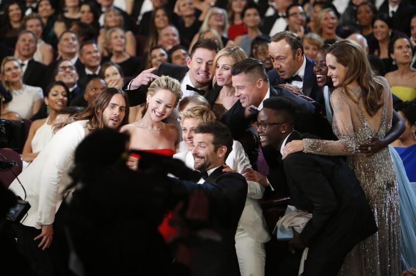 Ellen DeGeneres' selfie