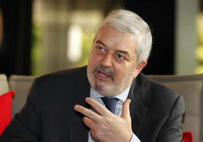 El subsecretario general de la ONU, Magdy Martínez-Solimán, durante entrevista concedida a Efe, este 4 de diciembre de 2016, en Ciudad de Panamá. EFE