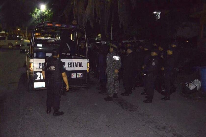 Fotografía de archivo de la Policía Estatal en Mexico. EFE/Archivo