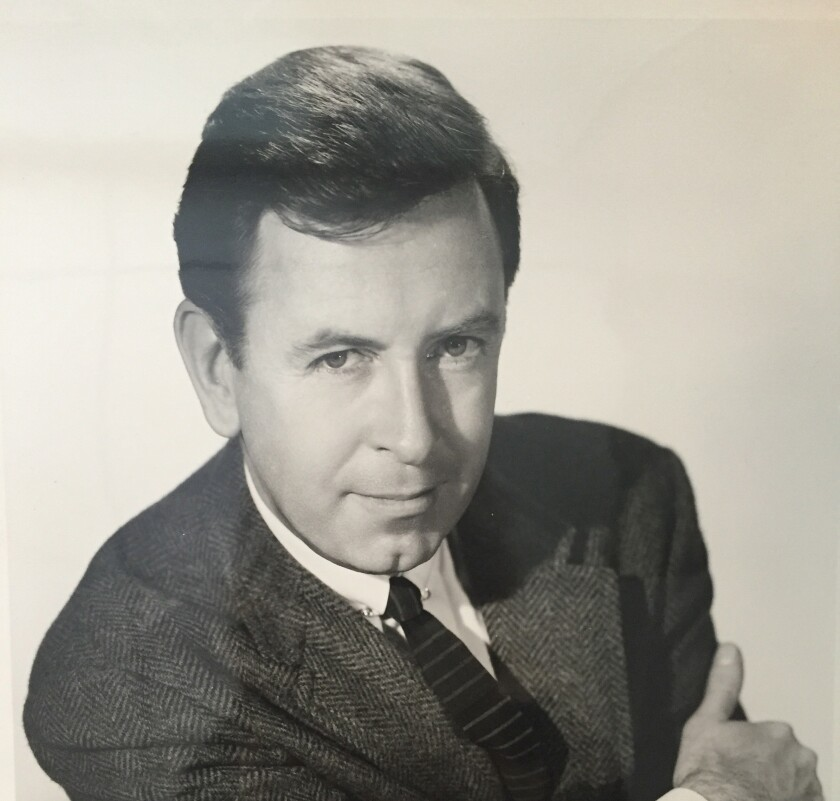 William Pursell in a publicity photo from the 1960s