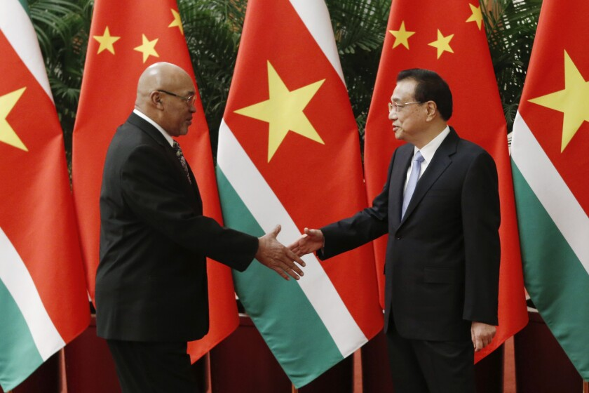 China Suriname