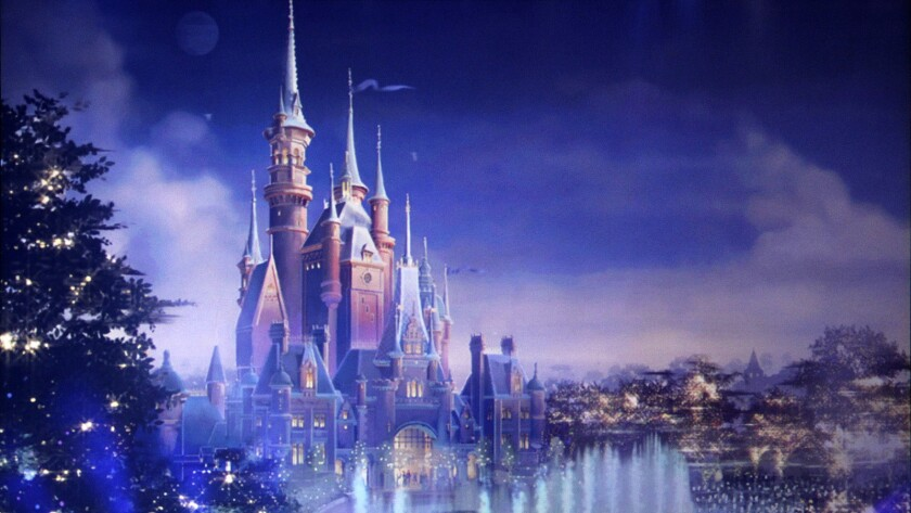 The Enchanted Storybook Castle serves as the centerpiece of Shanghai Disneyland.