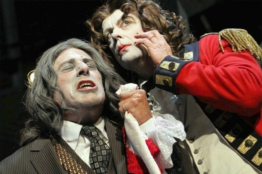 Theater review: In 'The Rivals,' zingers from 1775 hit their mark