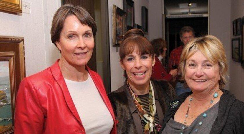 Carol Curtis, Teresa White, Pat Macri (Photo: Jon Clark)