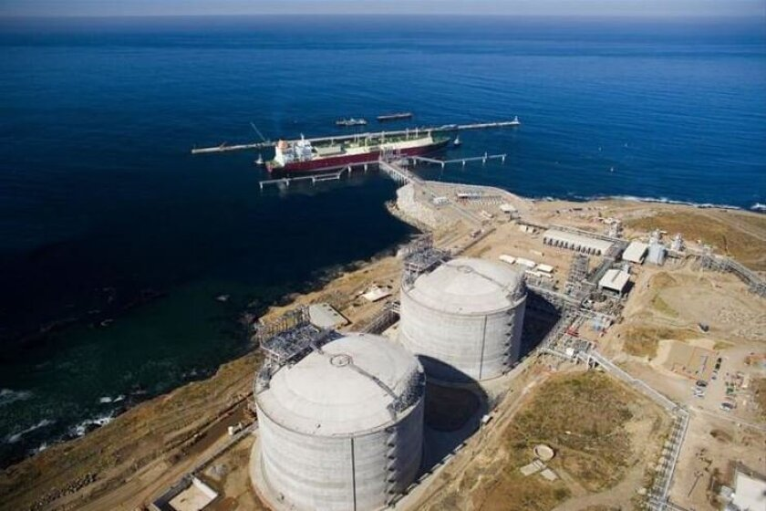 The Energia Costa Azul LNG facility outside Ensenada, Mexico, owned by a subsidiary of Sempra Energy.