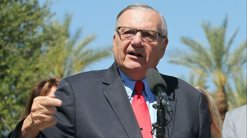 Former Maricopa County Sheriff Joe Arpaio Files Petition To Run For U.S. Senate