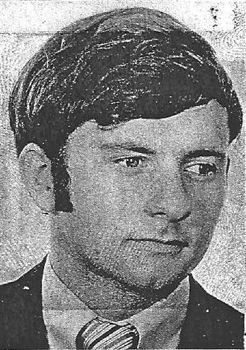 FILE - This 1977 license picture provided by the Oklahoma Board of Dentistry shows Tulsa oral surgeon Dr. Scott Harrington. Susan Rogers, the executive director of the Oklahoma Board of Dentistry, said Monday, April, 1, 2013, her office wants prosecutors to pursue criminal charges against Harrington who is at the center of a public health scare involving at least 7,000 of his patients. (AP Photo/Oklahoma Board of Dentistry, File)