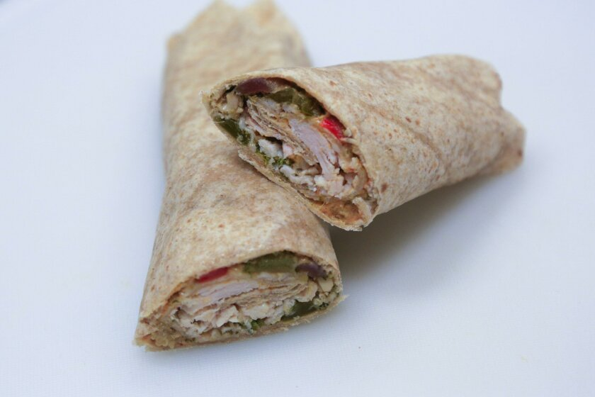 This chicken and sautéed vegetable wrap is best made with a variety of fresh vegetables. Check below for three cancer-fighting recipes from Moores Cancer Center at UC San Diego.