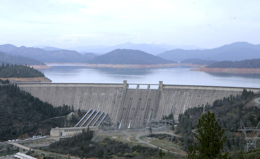 New water year kicks off with surplus: California has greater reservoir storage than last year