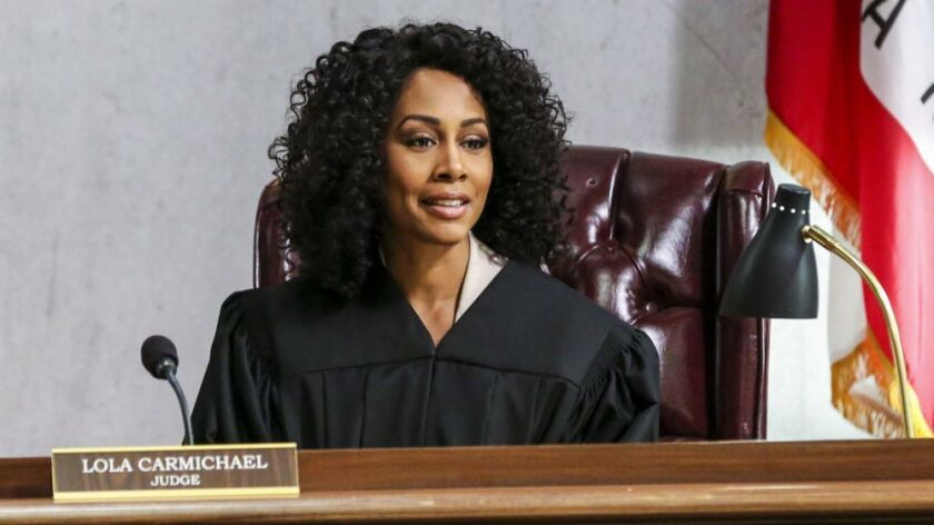 """Simone Missick plays a Los Angeles court judge in the new CBS drama series """"All Rise."""""""