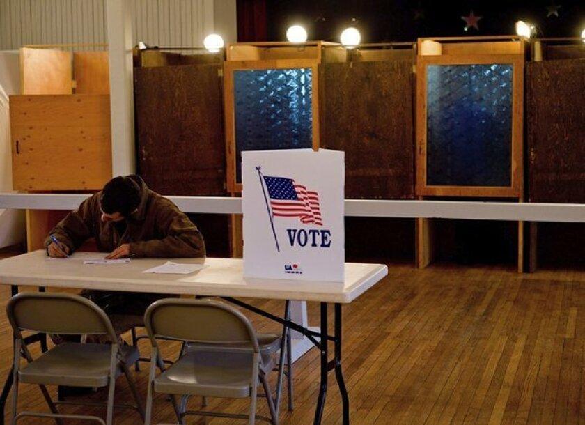 En los últimos comicios electorales en California la participación de la gente ha sido muy baja.