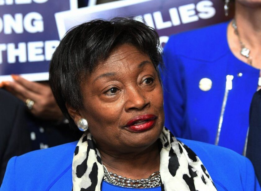 Senate Democratic Conference Leader Andrea Stewart-Cousins, D-Yonkers, criticized Republican gubernatorial candidate Marc Molinaro on women's issues.