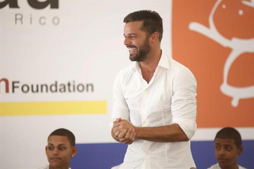 La Fundación Ricky Martin en alianza con el Centro de Derechos Civiles y Humanos de Atlanta (EE.UU.) realiza este fin de semana en San Juan un programa de capacitación a jóvenes universitarios de la isla sobre la trata de personas. EFE/ARCHIVO