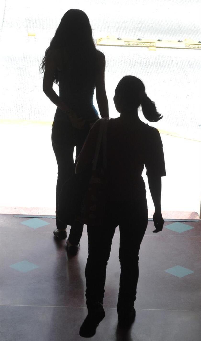 Mujeres jóvenes, víctimas de crímenes de trata de personas. EFE/Archivo