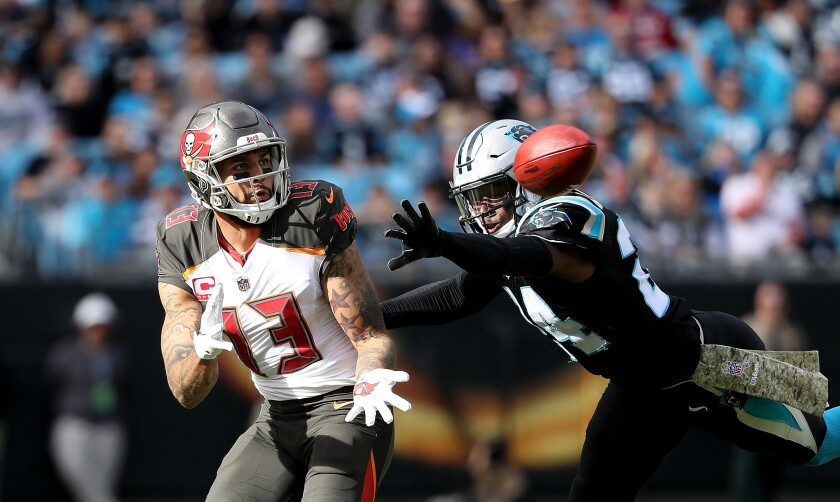 Tampa Bay Buccaneers wide receiver Mike Evans (13) should be plenty productive for fantasy owners this season, but he's not the only option on an improving offense coached by offensive guru Bruce Arians.