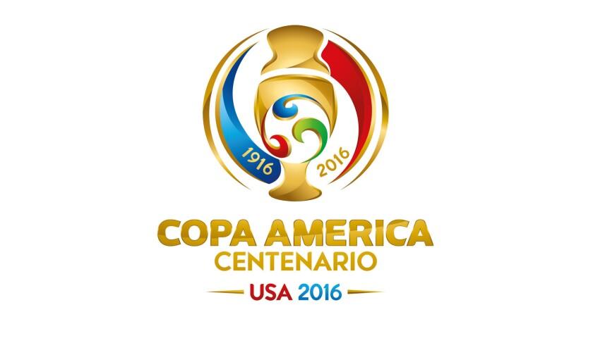 Logo oficial de la Copa América 2016.