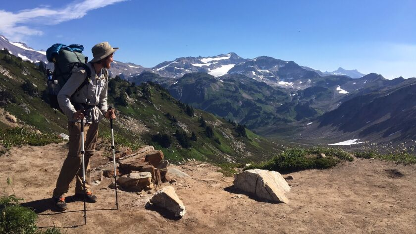 Tom Wheeler at Glacier Peak Wilderness in Washington