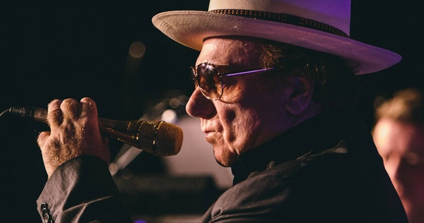 A photo of Van Morrison