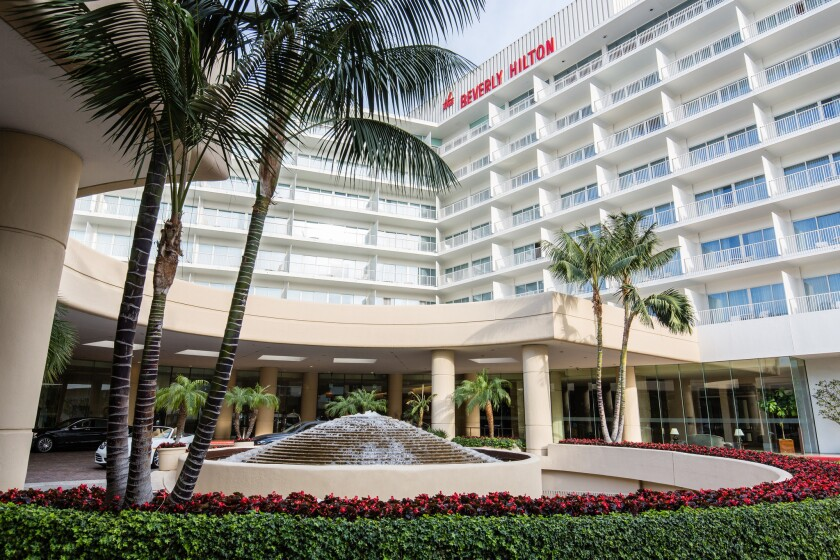Guests who book directly at the Beverly Hilton Hotel website can get free Wi-Fi.