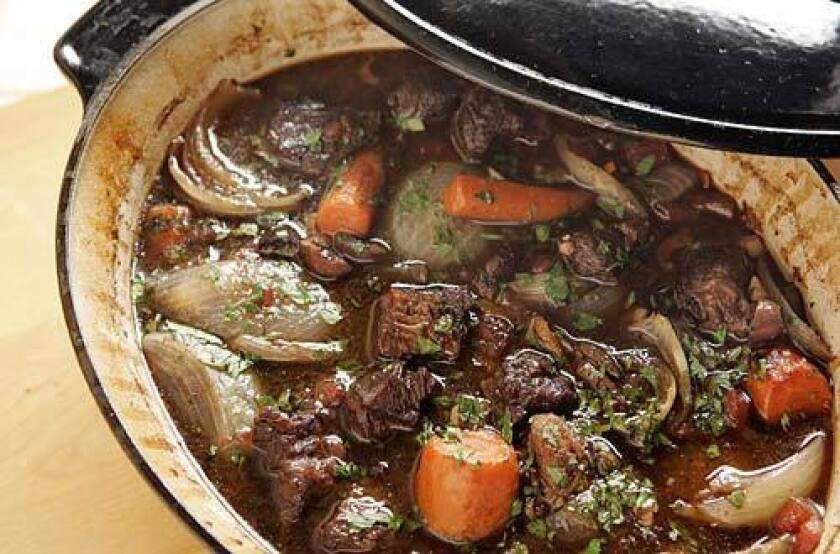 <b>LOOKING FOR CLUES: </b>How would Chez Panisse make a beef stew extraordinary?
