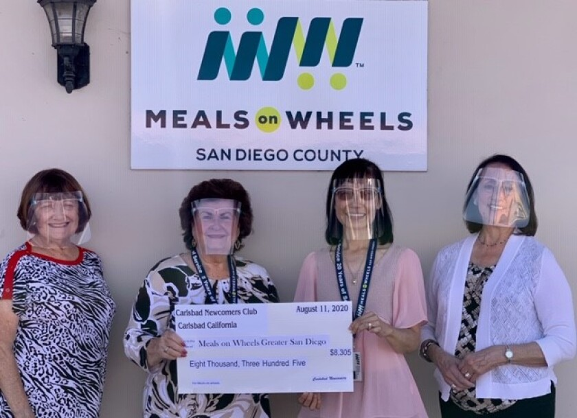 Carlsbad Newcomers Club supports Meals on Wheels