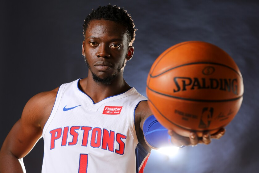 Former Detroit Pistons guard Reggie Jackson will make his Clippers debut against the Sacramento Kings on Saturday.