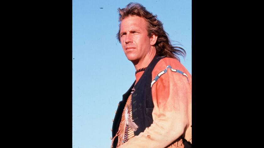"""Kevin Costner in """"Dances With Wolves"""""""