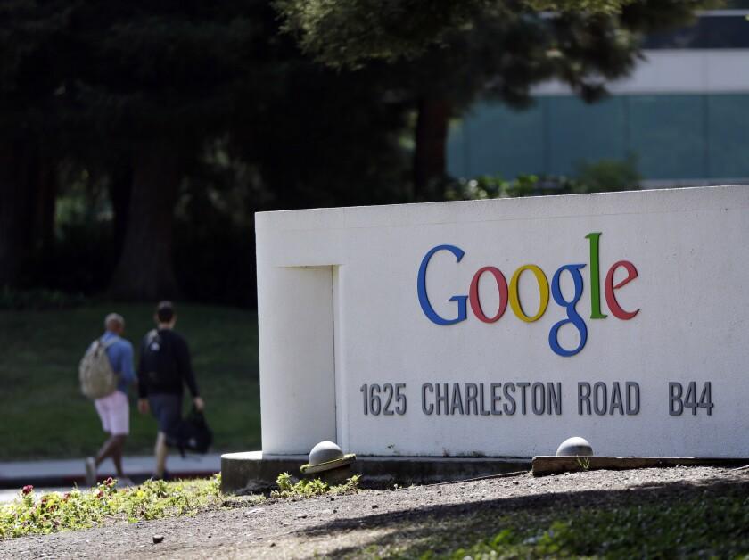 Google ya es una de las empresas más grandes del mundo. (Foto AP/Marcio José Sánchez)