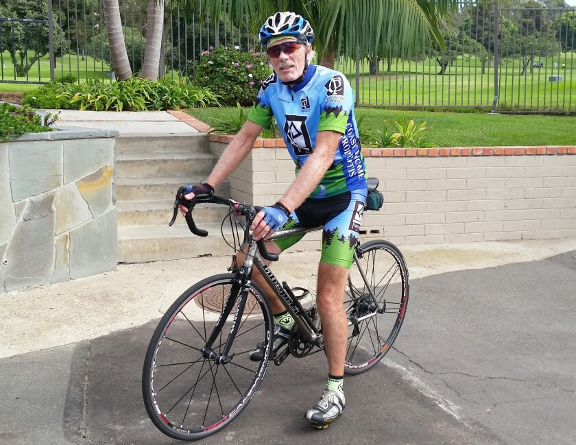 La Jolla resident Bob Robinson is part of a four-person relay team racing across America to raise money for the treatment of cystinosis.