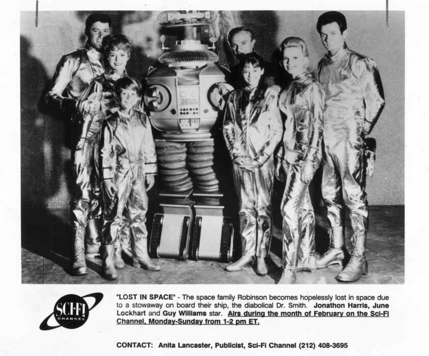 """Robert Kinoshita, creator of the robot in """"Lost in Space,"""" died in December at 100."""