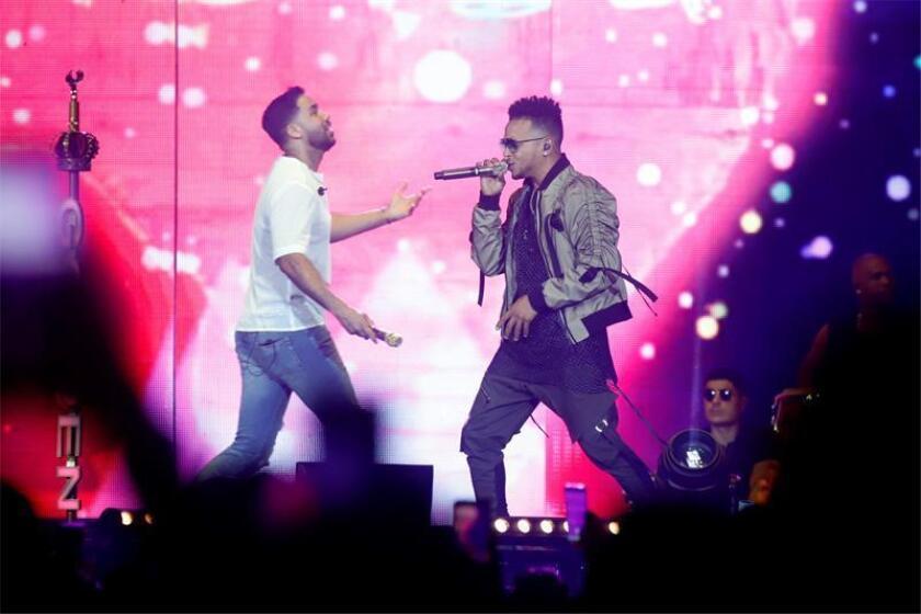 """Romeo Santos despide su gira """"Golden"""" en P.Rico con Daddy Yankee y Ozuna"""