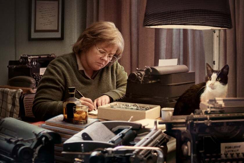 "Melissa McCarthy starred in 2018's ""Can You Ever Forgive Me?,"" an indie-festival favorite that was directed by Marielle Heller and co-written by Nicole Holofcener and Jeff Whitty. According to a new study from SDSU's Center for the Study of Women in Television and Film, the percentage of women working as directors in indie films increased between 2018 and 2019."
