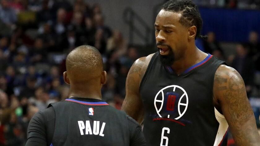 Los Angeles Clippers at Dallas Mavericks