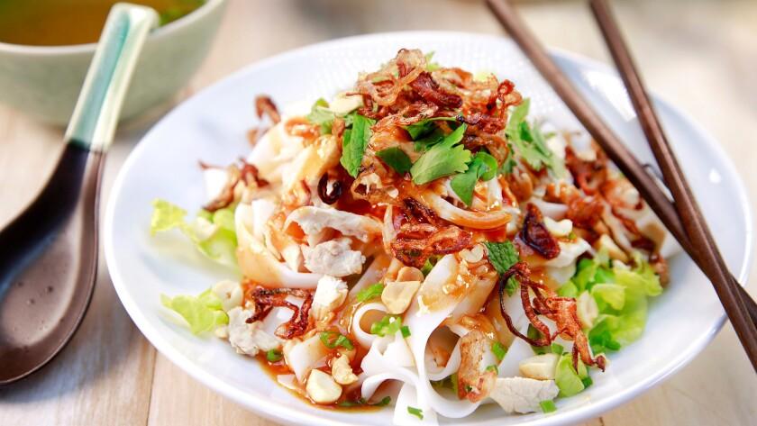 Pho noodle salad.