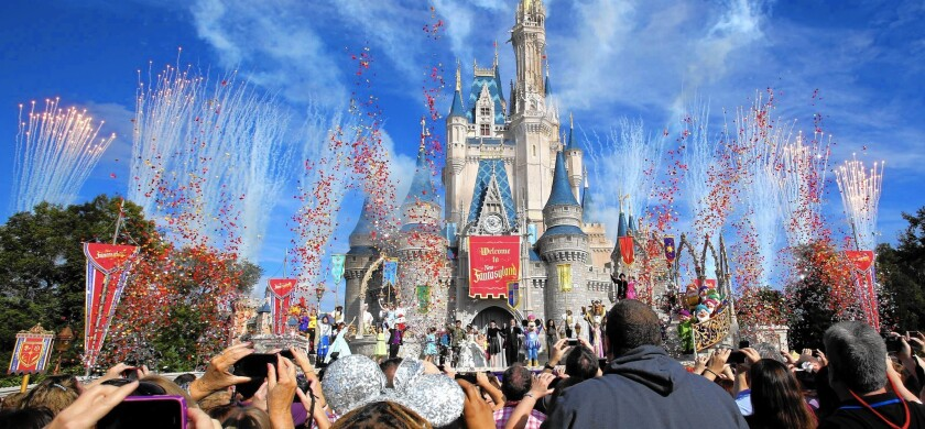 No-fly zones over Disneyland and Walt Disney World have been in place since 2003.