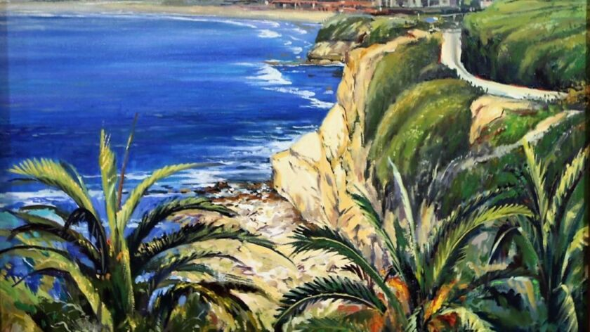 """Work by Wade Koniakowsky is part of the """"Spring"""" plein art exhibit"""