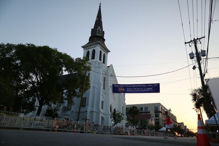 Emanuel African Methodist Episcopal Church in Charleston, S.C.