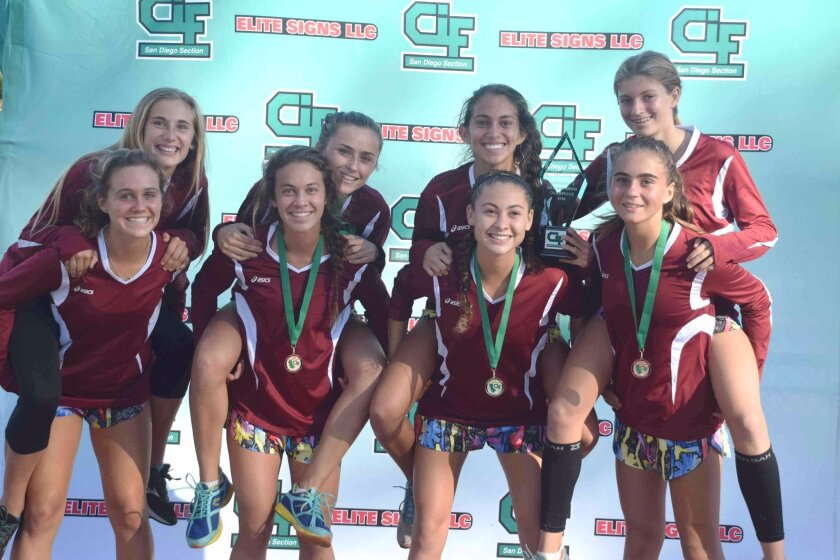 The Torrey Pines girls varsity cross country team won the CIF San Diego Section Division 1 Championship on Nov. 22 in San Diego. The team will travel to Fresno to compete Nov. 29 in the state championship meet.