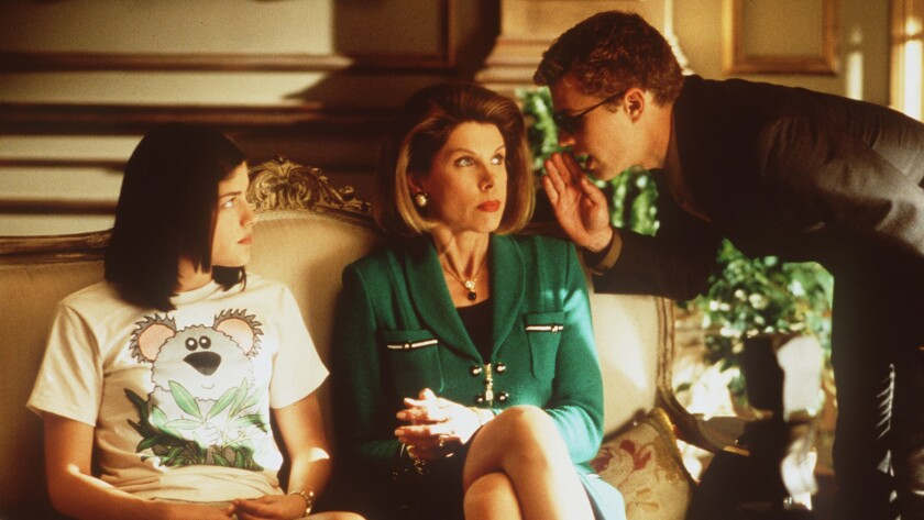"""Selma Blair, from left, Christine Baranski and Ryan Phillippe in """"Cruel Intentions."""""""