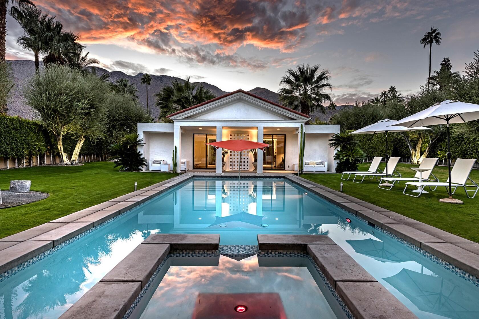 Vintage SoCal: Studio head Jack Warner created his own oasis in Palm Springs